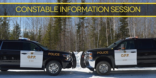 OPP Constable Information Session (Oshawa) March 12, 2020