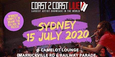 Coast 2 Coast LIVE Showcase Sydney, AU - Artists Win $50K In Prizes! tickets