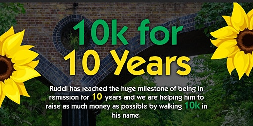 Ruddi's 10k for 10years