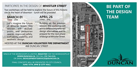 Public Engagement Workshop: Whistler Street tickets