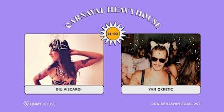 Carnaval HH :: Giu Viscardi e Yan Okretic ingressos