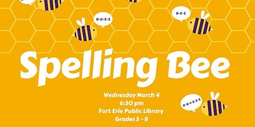Spelling Bee - Grades 7 & 8