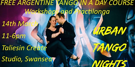 Free Argentine Tango in a Day Course: Workshops and Practilonga 7 tickets