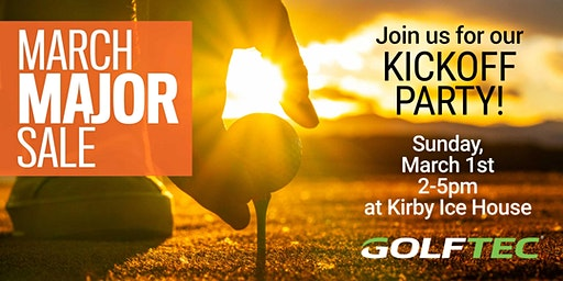 GOLFTEC Houston March Sale Kickoff Event