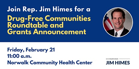 Drug-Free Communities Roundtable and Grants Announcement tickets