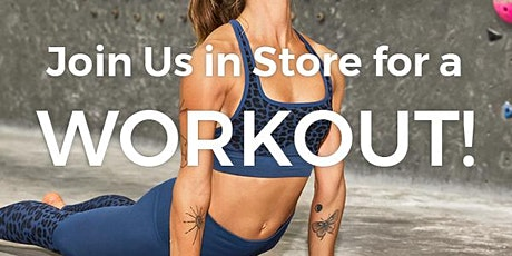 Fabletics FREE Yoga Flow Class tickets