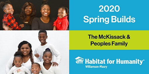 2020 Columbia Spring HFHWM Builds