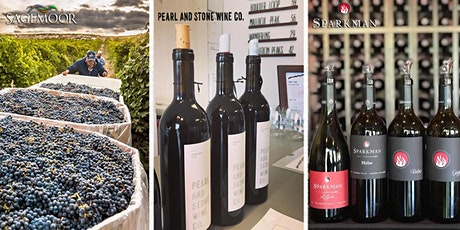 Wine and Dine with Sagemore Vineyards | Pearl & Stone | Sparkman Cellars tickets