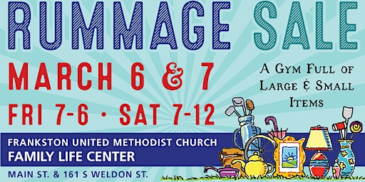 United Methodist Women Annual Indoor Rummage Sale