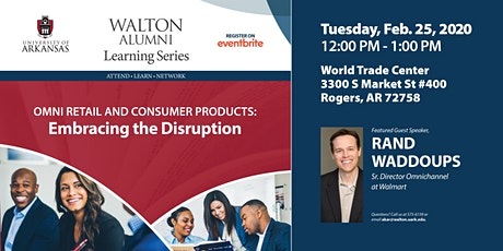 Omni Retail and Consumer Products: Embracing the disruption tickets