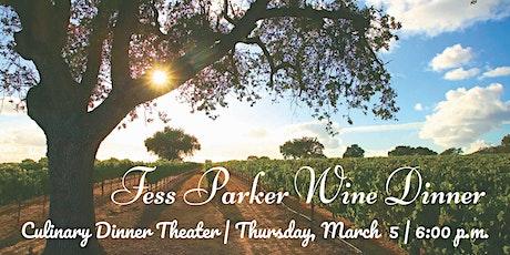 Fess Parker Wine Dinner | Culinary Dinner Theater tickets