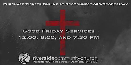 Riverside Good Friday Service tickets
