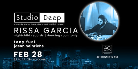 Studio Deep: Rissa Garcia, Tony Fuel, Jason Heinrichs tickets