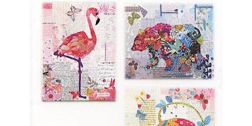 Collage Quilting with Debra McCracken
