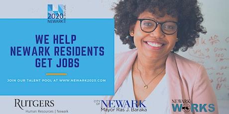 Newark 2020 Career Orientation with Rutgers University-Newark tickets