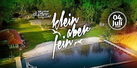 ★★★ Klein aber Fein Open Air w/ Thomas Lizzara, Alfred Heinrichs uvm. ★★★ Tickets