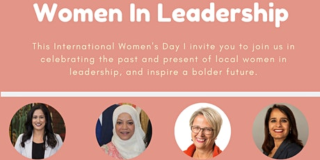 Women in Leadership - with MLA Rachna Singh tickets