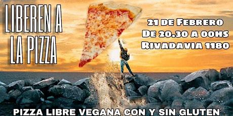 Pizza libre vegana entradas