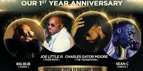 Strictly Sophisticated 1st Year Anniversary - 4 Artist Live on Stage tickets