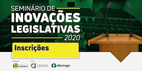 Seminário de Inovações Legislativas 2020 bilhetes