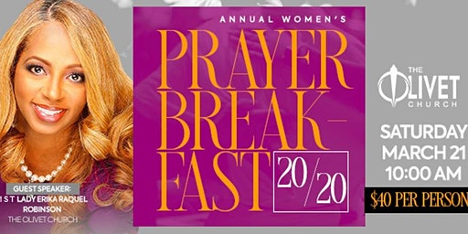 Women of Olivet Annual Prayer Breakfast