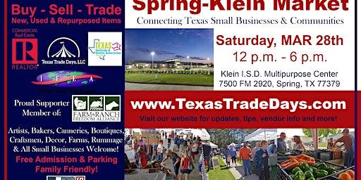 Texas Trade Days: Spring-Klein Market