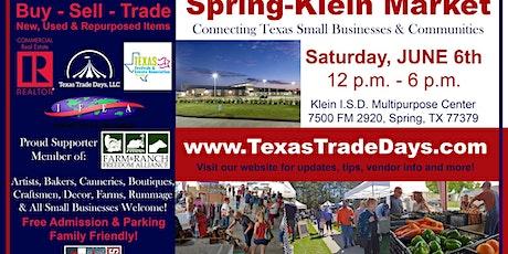 Texas Trade Days: Spring-Klein Market tickets