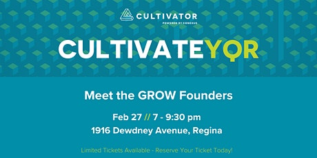 CultivateYQR tickets