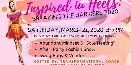Inspired in Heels: Breaking the Barriers 2020 tickets