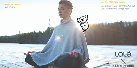 New Moon Karma Koala Meditation Class tickets