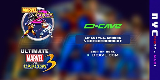 D-CAVE Popup Event - Fighting Game Tournaments Day 1