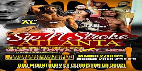 Sip N Stroke Atlanta tickets
