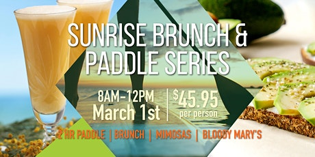 Brunch & Paddle tickets