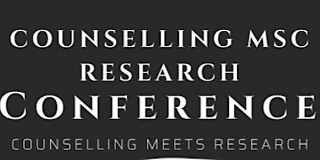 Bangor University Counselling MSc Research Conference tickets