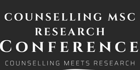 Bangor University Counselling MSc Research Conference
