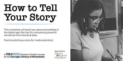 Teens: How to Tell Your Story