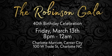 The Robinson Gala tickets