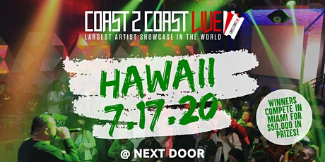 Coast 2 Coast LIVE | Hawaii 7/17/20 Edition - $50K in Prizes! tickets