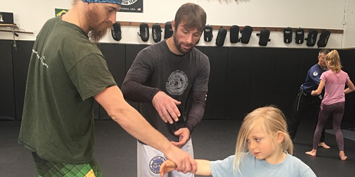 PARENTS & KIDS BRAZILIAN JIU JITSU SEMINAR with Marcello Daflon