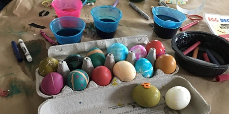 POSTPONED - Easter Egg Decorating tickets