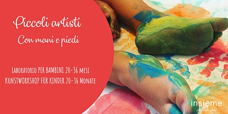 Kunstworkshop für Kinder - Con mani e piedi Tickets