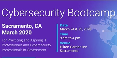 Cybersecurity Bootcamp in Sacramento, CA - March 2020 tickets