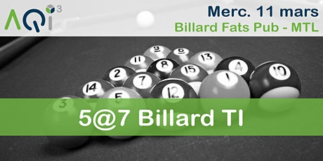 5@7 Billard TI billets