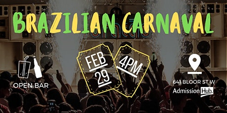 BRAZILIAN CARNAVAL PARTY tickets