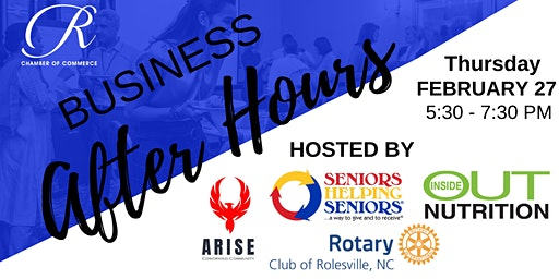 Rolesville Business After Hours - February 2020