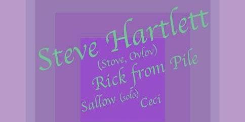 Steve Hartlett/Rick from Pile/Sallow (solo)/Ceci
