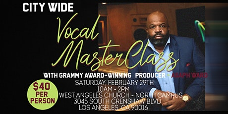 City -Wide Vocal Workshop tickets