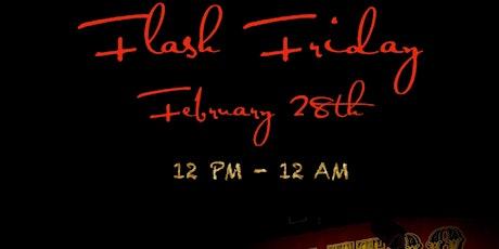 Flash Friday $35 Tattoo Event! tickets