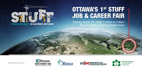OTTAWA'S 1st STUFF JOB & CAREER FAIR tickets