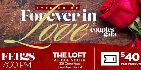 """An Evening of """"Forever in Love"""" Couple's Gala tickets"""